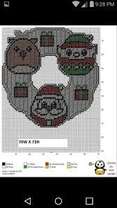 958 best christmas plastic canvas images on pinterest