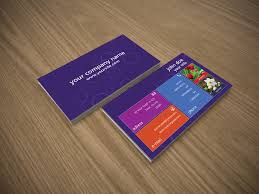 windows 8 inspiration business card vrsolutions