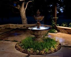 water fountain with lights garden fountains with lights chic outdoor fountains with lights 17