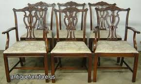 Bernhardt Dining Room Chairs Antique Mahogany Bernhardt Dining Chairs At Antique Furniture Us
