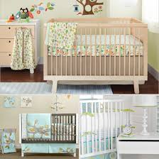 unisex crib bedding popsugar moms