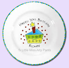 painted platters personalized 42 best birthday plates personalized and painted