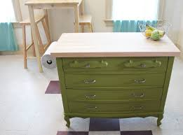 powell pennfield kitchen island upcycling give new to furniture pfister faucets