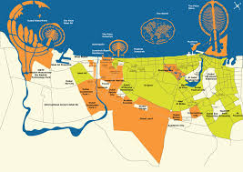 world map city in dubai uae dubai metro city streets hotels airport travel map info