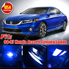 97 honda accord lights 10 ultra blue led lights interior package kit for 94 97 honda