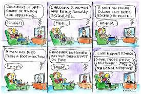 Cartoon Armchair Armchair Hypocrisy