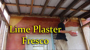 mudroom addition pt 3 lime plaster pigment youtube