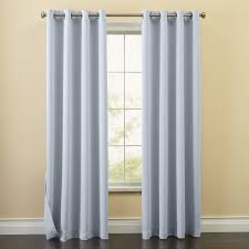 edison blackout grommet curtain energy savers brylanehome