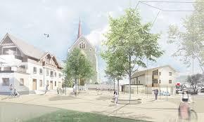 wettbewerbe architektur gsottbauer architektur werkstatt wettbewerb dorfplatz stans
