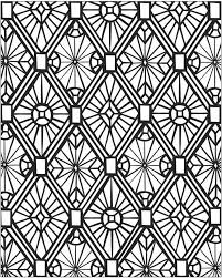 printable coloring pages for adults geometric awesome geometric mosaic coloring page download print online