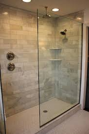 Walk In Shower Enclosures For Small Bathrooms Doorless Walk In Shower Plans Designs For Small Bathrooms Stalls
