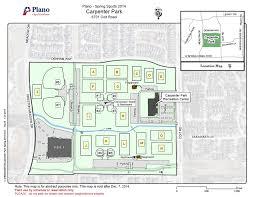 map plano field layouts