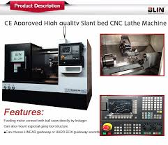 ce approved taiwan high quality desktop cnc lathe with slant bed machine bl x36 36l 36d