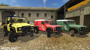 defender land rover 2017 land rover defender 90 mod farming simulator 17