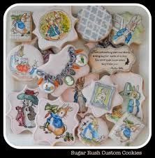 rabbit cookies beatrix potter rabbit cookies cookie connection