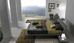 contemporary wooden bed design for bedroom furniture by presotto