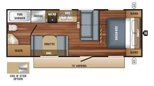Jayco Travel Trailers Floor Plans by Jayco Jay Flight Slx 232rb Travel Trailer Floor Plan