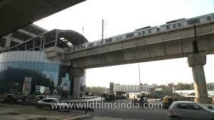 New Delhi Metro Rail Map by Metro Coach Heading Towards Tughlakabad Delhi Metro Station