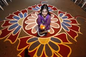 top 20 easy rangoli designs that kids can make this diwali