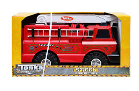 tonka fire truck toy amazon com tonka 90219 classic steel plastic fire engine vehicle