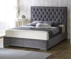 free uk delivery chelsea velvet fabric luxury ottoman storage