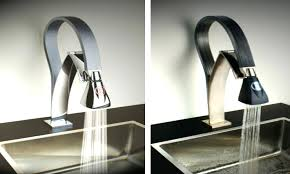 no touch kitchen faucets no touch kitchen faucet glacier bay touchless led single handle pull