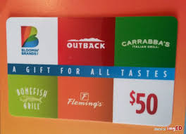 bonefish gift card bloomin brands gift cards lamoureph