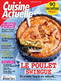 magazine cuisine gratuit abonnement magazine cuisine actuelle pas cher prismashop