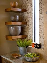 Decorating Ideas For Kitchen Shelves Clever Corner Decoration Ideas