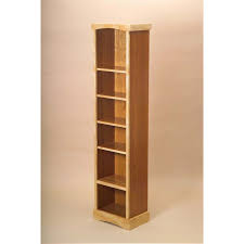 Narrow Bookcases Uk Backyards Handmade Narrow Bookcase Woodworks Solid Wood