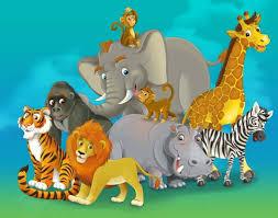 safari cartoon cartoon safari custom wallpaper wall decor