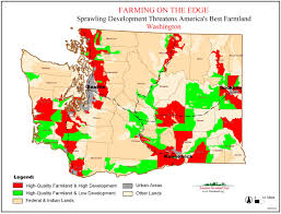 Washington Wineries Map by American Farmland Trust Resources Farming On The Edge Report