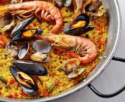 cuisiner une paella paella de marisco paella de fruits de mer recette de paella de