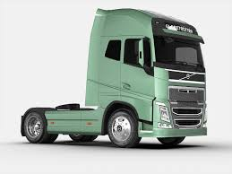 volvo 760 truck volvo fh 16 2012 3d cgtrader