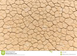 Floor Dry by Dry Lake Bed In Desert With Cracked Mud On A Lake Floor Stock