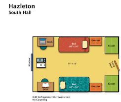 Bedroom Floor Planner by Residence Halls Hazleton Housing U0026 Food Services