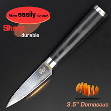 kitchen knives ratings aliexpress com buy 3 5 inch paring knife damascus kitchen knives