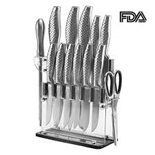 commercial kitchen knives livingbasics 14 fda certified stainless steel kitchen knife