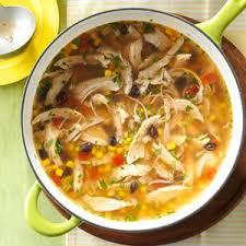 turkey tortilla soup recipe tortilla soup fiestas and