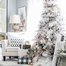 8 trees trimmed with cottage style the cottage journal