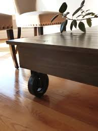 coffee tables breathtaking antique industrial cart coffee table
