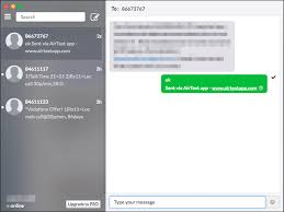 send from android how to send receive android text messages on mac or windows pc