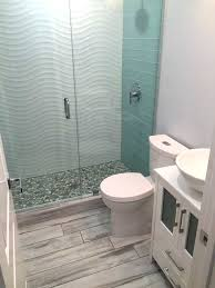 glass tile bathroom ideas wavy tile bathroom electricnest info