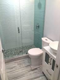 Glass Tiles Bathroom Ideas Wavy Tile Bathroom Electricnest Info