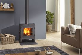 wood burning fireplace contemporary closed hearth floor