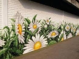 Garden Wall Paint Ideas Garden Wall Paint Painted Vertical Garden Garden Wall Painting