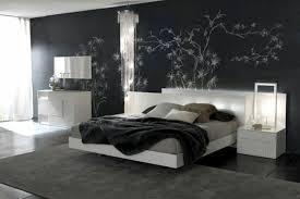 chambre a coucher noir et gris chambre mur noir meilleur idées de conception de maison