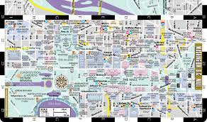 Indiana University Map Streetwise Washington Dc Map Laminated City Center Street Map Of