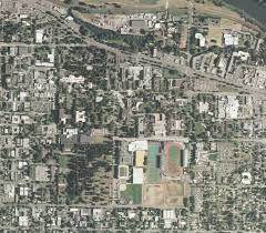 Campus Map Oregon State by Aerial Photograph Collection Uo Libraries