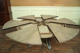 expandable dining room table dining table transitional trestle dining table 60 in round